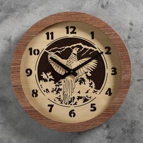 Часы настенные 'В полёте', d=41 см, плавный ход Ош