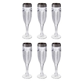 УЦЕНКА Набор для вина, 6 бокалов 150 мл, 39 × 14 × 30 см