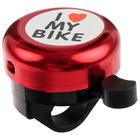 Звонок Bike, цвет красный