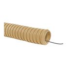 Труба гофрированная Uplast, ПВХ, d=16 мм, 10 м, легкая , с зондом, цвет сосна