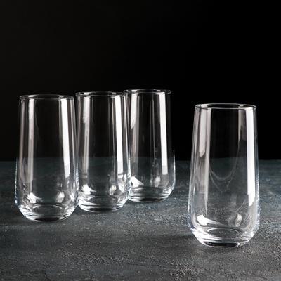 Набор стаканов «Аллегра», 470 мл, 4 шт