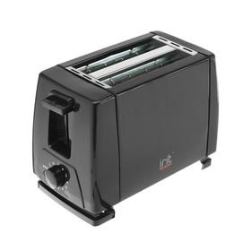 Тостер Irit IR-5100, 650 Вт, 6 режимов прожарки, 2 тоста, черный Ош