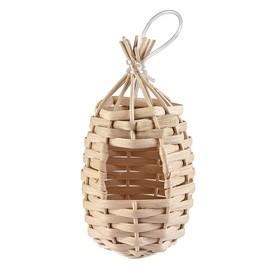 Гнездо Imak Nido Esotico для птиц, подвесное, плетеное, ф8,5 х 16 см Ош