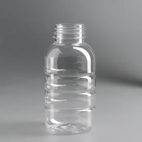 Бутылка 0,3 л «Бочонок», без крышки, диаметр горлышка 38 мм Ош