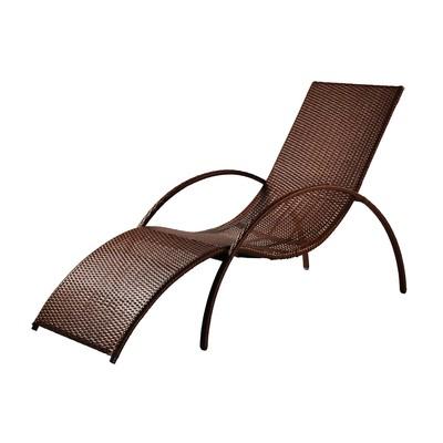 Шезлонг NICE, 195*70*95 см, цвет шоколад - Фото 1