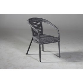 Кресло DECO, 53*60*80 см, цвет серый
