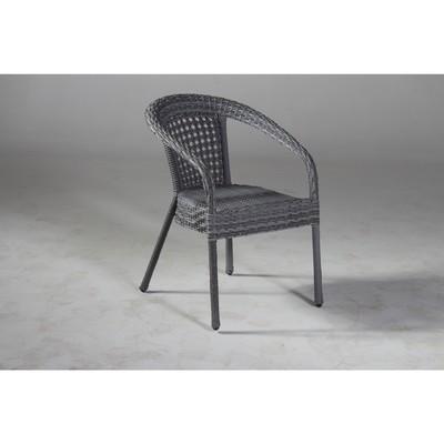 Кресло DECO, 53*60*80 см, цвет серый - Фото 1