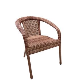 Кресло DECO, полусфера, 53*60*80 см, цвет капучино