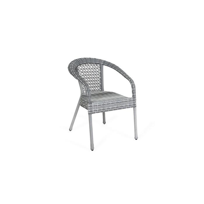 Кресло DECO, полусфера, 53*60*80 см, цвет серый