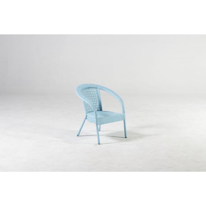 Кресло DECO мини, 45*45*52 см, цвет голубой