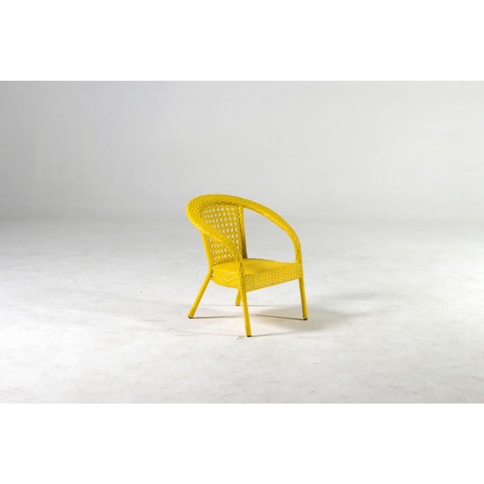 Кресло DECO мини, 45*45*52 см, цвет желтый