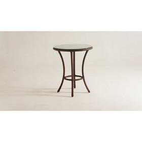 Стол кофейный DEKO круглый, d-60 см, цвет шоколад