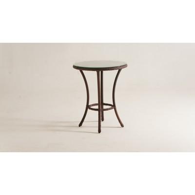 Стол кофейный DEKO круглый, d-60 см, цвет шоколад - Фото 1