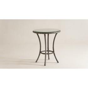 Стол кофейный DEKO круглый, d-60 см, цвет серый
