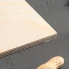 Доска разделочная «Если на кухне нет весов», 20×11×0,6 см - Фото 3