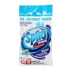 Порошок для стрики цветных тканей Spiro White в стиральных машинах 4,2 кг
