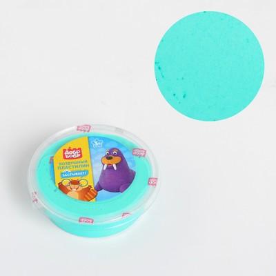 Воздушный пластилин «ДобрБобр», зелёный, 50 мл - Фото 1