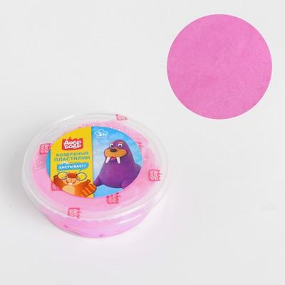 Воздушный пластилин «ДобрБобр», розовый, 50 мл - Фото 1