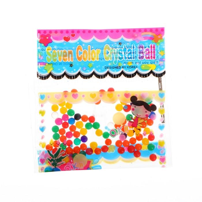 Детский набор для опытов Растущие игрушки Мини шарики в пакете МИКС
