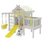 Спортивно-игровой комплекс для дома «Савушка» Baby 6 (club), 2450 × 2000 × 2450 мм