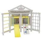 Спортивно-игровой комплекс для дома «Савушка» Baby 9 (club), 2000 × 2000 × 2100 мм