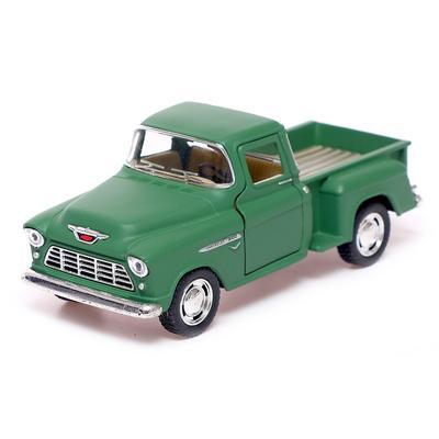 Машина металлическая Chevy Stepside Pick-up, 1:32, открываются двери, инерция, МИКС - Фото 1