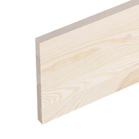 Щит мебельный  СОСНА, сорт АА, бессучковый, 200×20×1,8 см Ош