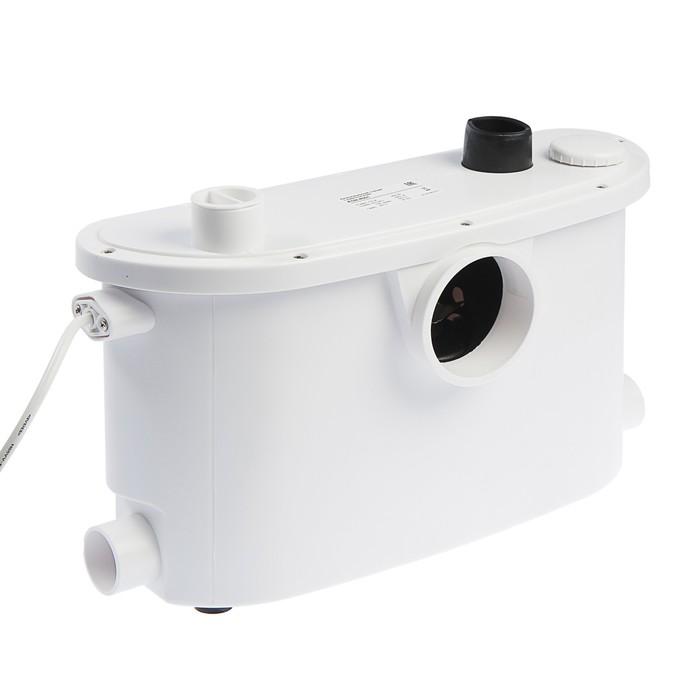 Насос канализационный Беламос KNS-4001, для унитаза, 400 Вт, 100 лмин, напор 6 м