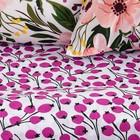 Постельное бельё Этель1.5 сп «Flowers» 143х215 см, 150х70 см, 70х70 см -2шт - Фото 2
