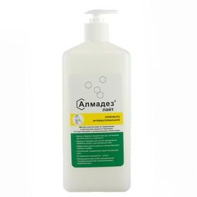Крем-мыло антибактериальное Алмадез-лайт, 1л. (дозатор-насос)