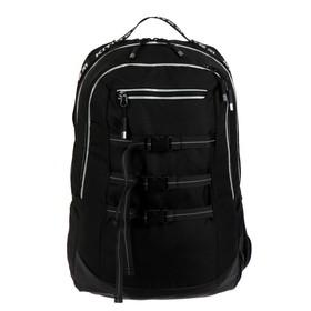 Рюкзак молодёжный эргономичная спинка, Kite 939, 46 х 30 х 13, Сity, чёрный