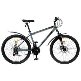 """Велосипед 26"""" Progress модель Advance Disc RUS, цвет серый, размер 17"""""""