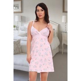 Сорочка женская, цвет розовый, размер 42