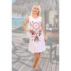 Сорочка женская, цвет белый, размер 48