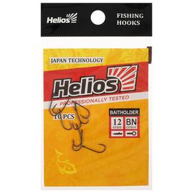 Крючок Helios Baitholder №12, 10 шт. Ош