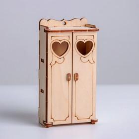 Деревянная мебель для кукол «Кухонный уголок»