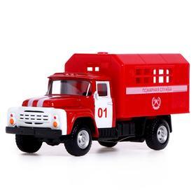 Грузовик металлический «Фургон», масштаб 1:52, инерция