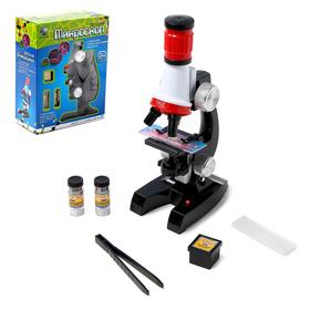 Микроскоп детский, цвет чёрный