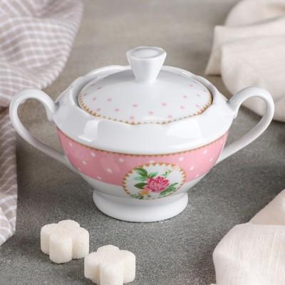 Сахарница Mix&Match, 250 мл, цвет розовый - Фото 1