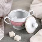 Сахарница Mix&Match, 250 мл, цвет розовый - Фото 2