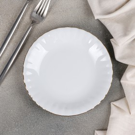 Тарелка десертная «Золотая отводка», d=17 см
