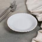 Тарелка десертная «Золотая отводка», d=17 см - Фото 2