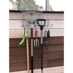 Держатель для садового инструмента черный Ош