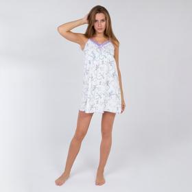 Сорочка женская, цвет белый, размер 44