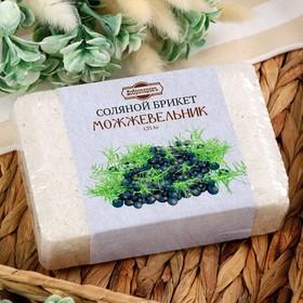 Соляной брикет с можжевельником, 1,35 кг 'Добропаровъ' Ош