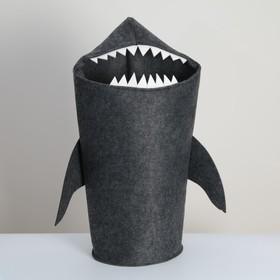 Органайзер для хранения Funny «Акула», цвет тёмно-серый