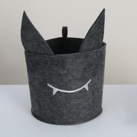 Органайзер для хранения Funny «Монстр», цвет тёмно-серый