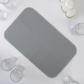 Салфетка для сушки посуды Air-mesh, 40×24 см, цвет серый Ош