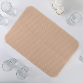 Салфетка для сушки посуды Air-mesh, 44×30 см, цвет МИКС Ош
