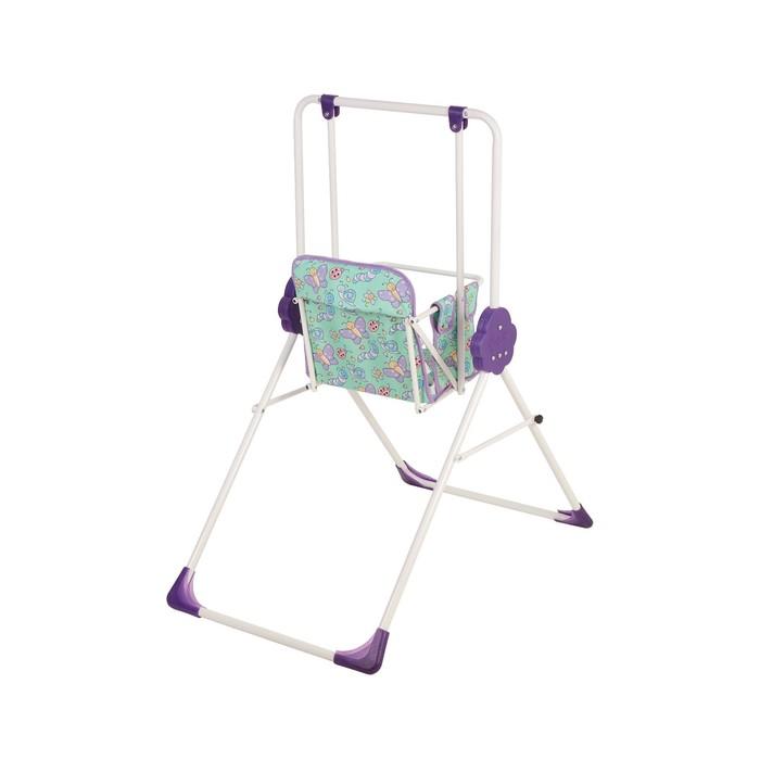 Качели детские напольные «Малыш. Фея», цвет фиолетовый